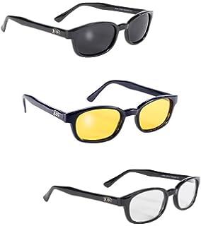 a640107232efc Pacific Coast Sunglasses Original KD s Biker Sunglasses 3-pack Smoke