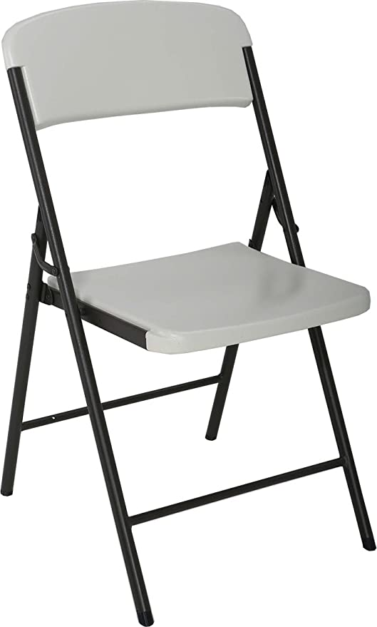 Lifetime - Silla Plegable Multifuncional, Blanco, LFT Basic