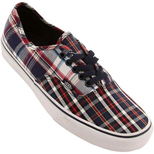 Vans Men Authentic - Mix Plaid (blue / dress / white)-9.5 (Vans Plaid Shoes)