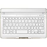 Samsung EJ-CT700UWEGWW Bluetooth Keyboard Cover - White For Galaxy Tab S 8.4