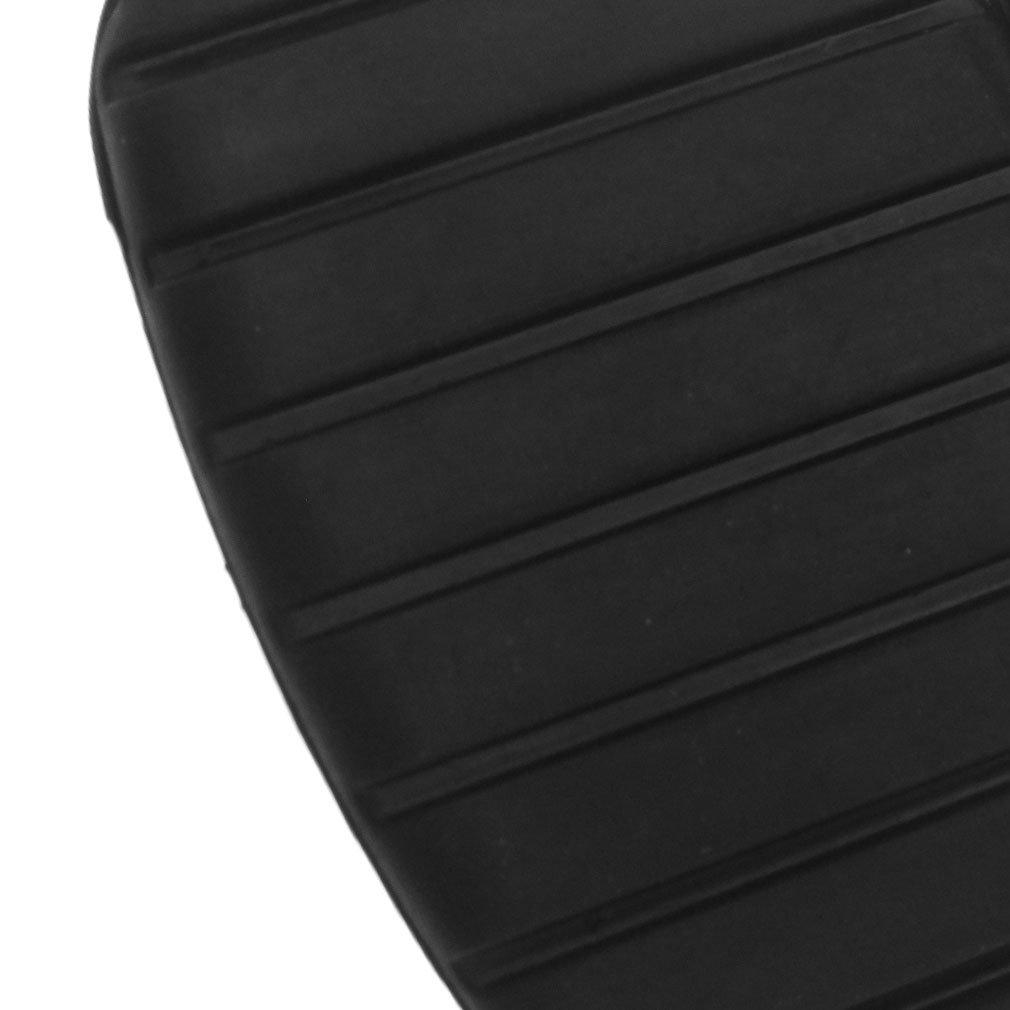 2 x Couvre-p/édale Caoutchouc dembrayage Noir Couvre P/édale de frein Set pour Auto Voiture