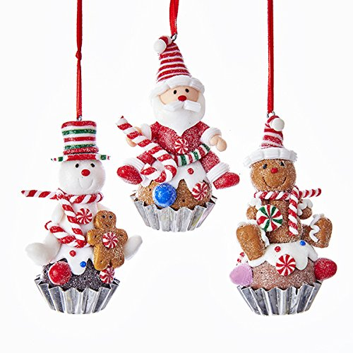 Kurt Adler GINGERBREAD MAN ORNAMENT 3A