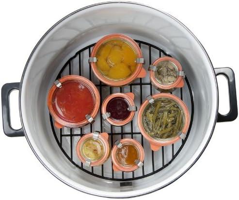 Elektrische inmaakbrander – glühweinkooktop – kookpan met tapkraan – inhoud ca. 27 liter – tot 14 inmaakglazen à 1 liter.