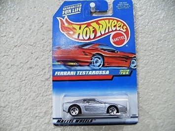 Hot Wheels Ferrari Testarossa 1998 Hot Wheels 784 On Red Card W 5 Spokes By Hot Wheels Amazon De Spielzeug
