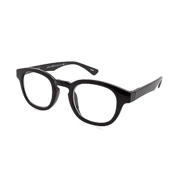 e0351b7aa6 Image Unavailable. Image not available for. Color  Gabriel + Simone Evon  Black Unisex Reading Glasses