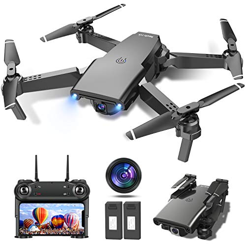 Drone with Camera for Adults, 1080P HD Drone for Kids with 120° Wide-Angle FPV Live Video, Optical Flow, Gravity Sensor, Altitude Hold and 2 Modular Batteries