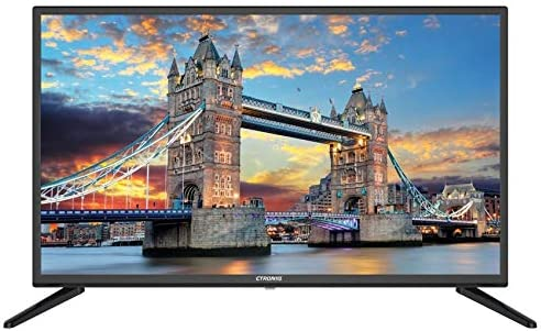 CTRONIQ 43-inch LED TV with Built-in DVB-T2 Receiver, Black