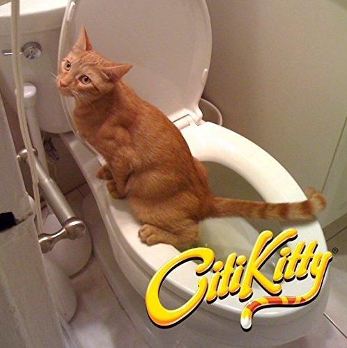 CitiKitty Cat Toilet Training Kit (One Pack + Extra Training Insert)