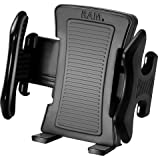 RAM Medium Size Universal Spring Loaded Clamping Holder with Rubber Clamps for Cell Phones, iPhones & iPods