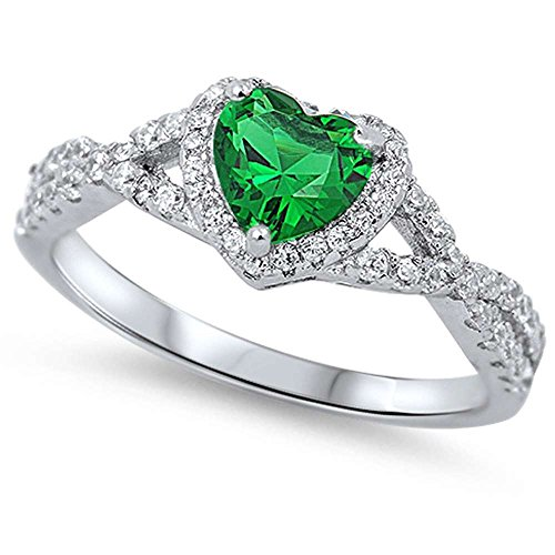 diamond and emerald ring - 7