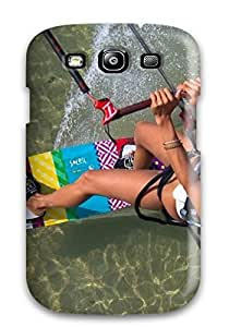 MKgJJGE428PeDxq Mary David Proctor Awesome Case Cover Compatible With Galaxy S3 - A Girl Making Wind Surf