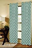 CHD Home Textiles Grand Island Curtain Panel, Light Green