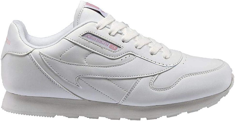 Zapatilla John Smith Cresir Blanco/Rosa Mujer: Amazon.es: Zapatos y complementos