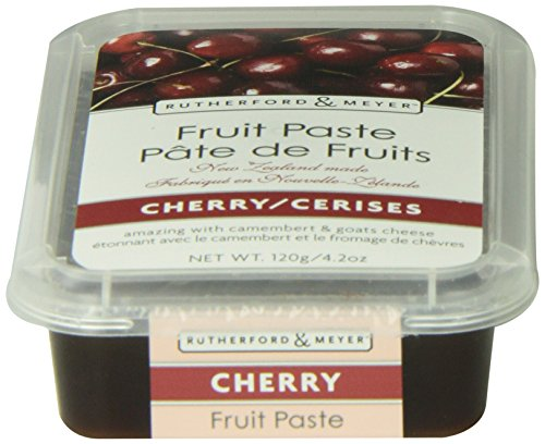 (Rutherford and Meyer Fruit Paste, Cherry, 4.2-Ounce Containers (Pack of 4))