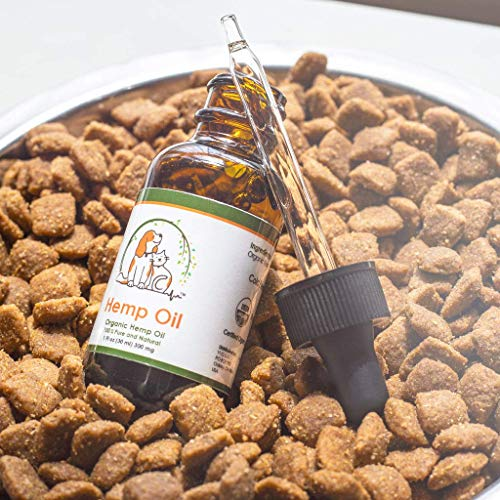 51B62XR9lbL - Valerio Pet Hemp Oil Dog Cat, Anxiety Relief, Arthritis Pain, Hip, Joint, Separation Anxiety, Stress, Seizures, Anti-Inflammatory, USDA Certified Organic