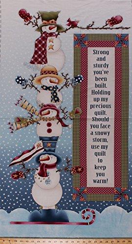 Snowman Panel - 4