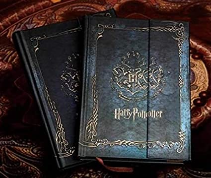 Agenda vintage de Harry Potter con calendario 2017-2018-2019 ...