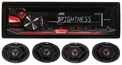 Package: JVC KD-R370 In-Dash Car Stereo CD/MP3 Player Receiv