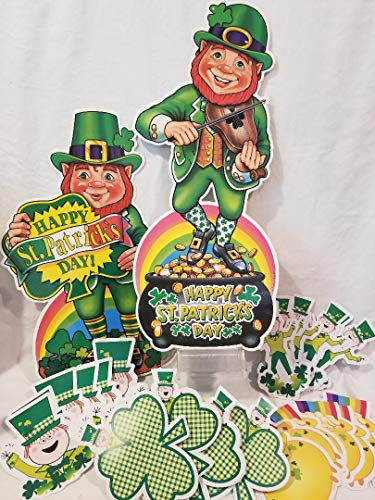 St Patrick's Day Cutouts and Bulletin Board pieces