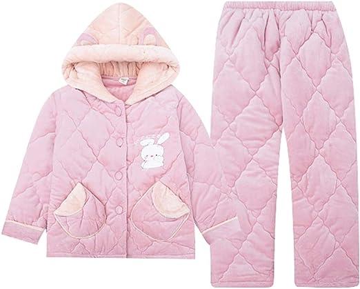 WSY Pijamas Otoño e Invierno Pijamas Acolchados para niños Niñas ...