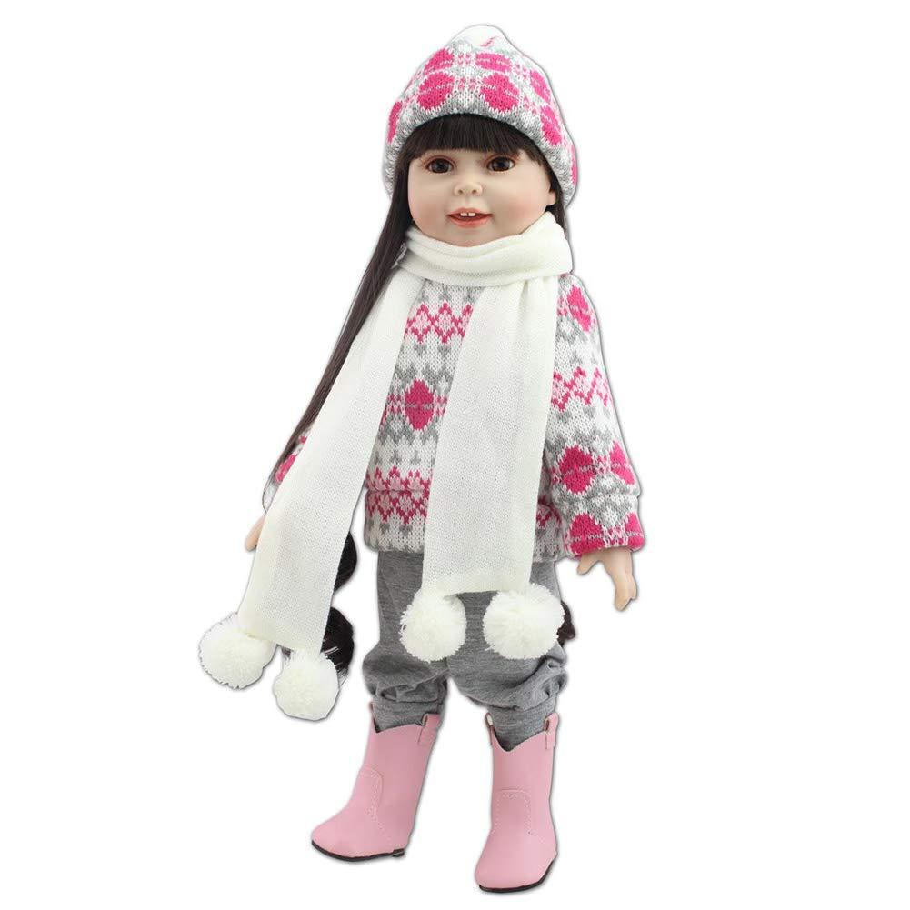 Barato CHENG Simulación Renacimiento muñeca Realista muñecas Impermeables Lindo bebé niña Juguete Regalo de cumpleaños