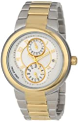 """Philip Stein Women's 31TG-AGW-TGSS """"Active"""" Gold-Plated Two-Tone Watch"""