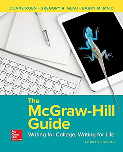 the mcgraw hill guide writing for college writing for life duane rh amazon com McGraw-Hill Textbooks McGraw-Hill Books