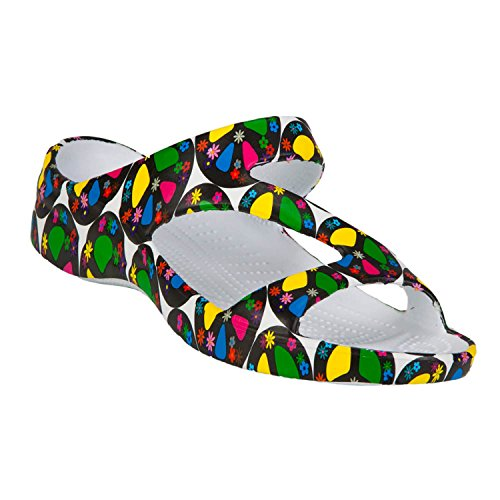 DAWGS Women's Fun Collection Z Sandals - Peace ()