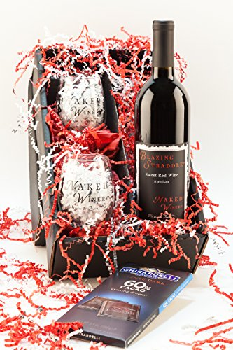 Sweet Red Oregon Wine Gift Set, 1 x 750 mL