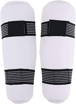 TAEKWONDO Gear Shin Protector Shin Instep Guard Martial Arts Sparring Size L