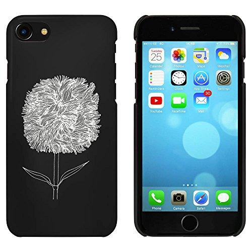 Noir 'Fleur Détaillée' étui / housse pour iPhone 7 (MC00064891)