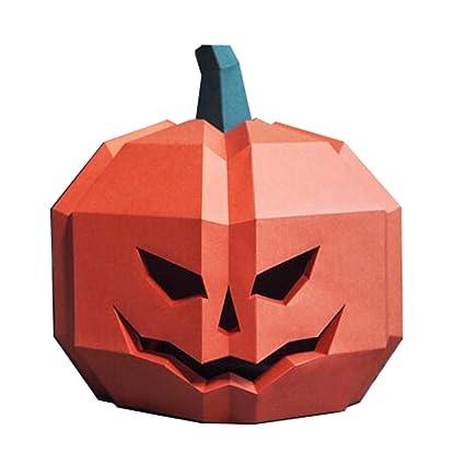Uus Máscara de Calabaza de Halloween, máscara de decoración del Partido Niño Adulto Divertido del