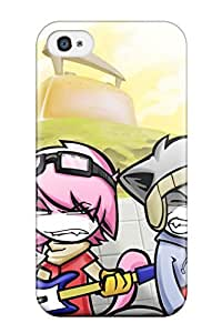AJONQlO2066GuUtr Flcl Fashion Tpu 4/4s Case Cover For Iphone