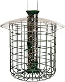 Droll Yankee SDC Green  Wild Bird Feeder with Domed Cage