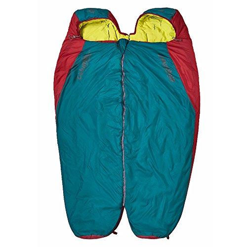 Columbus Misti 300 L Momia Saco de Dormir, Unisex Adulto, Turquesa/Rojo, Talla Única: Amazon.es: Deportes y aire libre