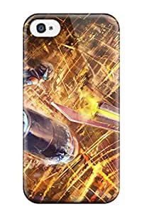 Iphone 4/4s Cover Case - Eco-friendly Packaging(original Technics Fantasy Anime Girls)