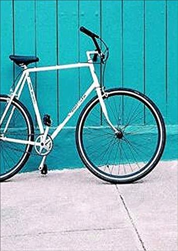 Kit de punto de cruz,diy pintura al oleo por numeros,5d diamond painting para cuadro de mosaico con diamantes de imitacion para bordado de bicicleta, 30 x 40 cm
