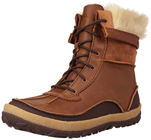 Merrell Women's Tremblant Mid Polar Waterproof Snow Boot, Oak, 10.5 M US by Merrell