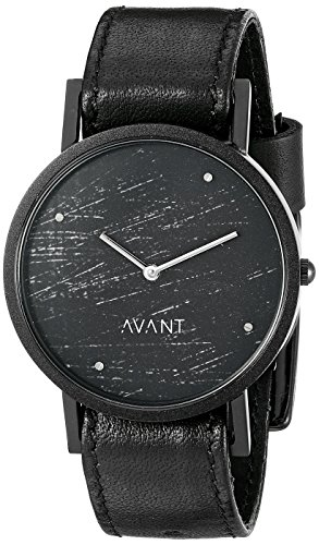 South Lane Unisex 8201 Swiss Analog Display Swiss Quartz Black Watch - Swiss Design Watch