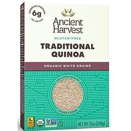 Ancient Harvest Traditional Quinoa - Organic White Grains 12oz.