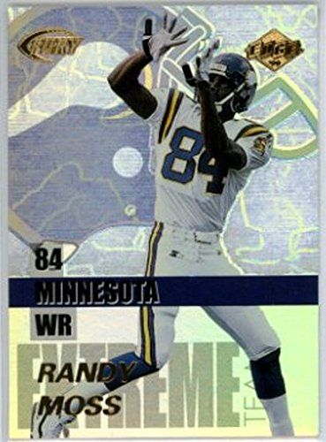 (1999 Collector's Edge Fury Extreme Team #E10 Randy Moss NM-MT Vikings )