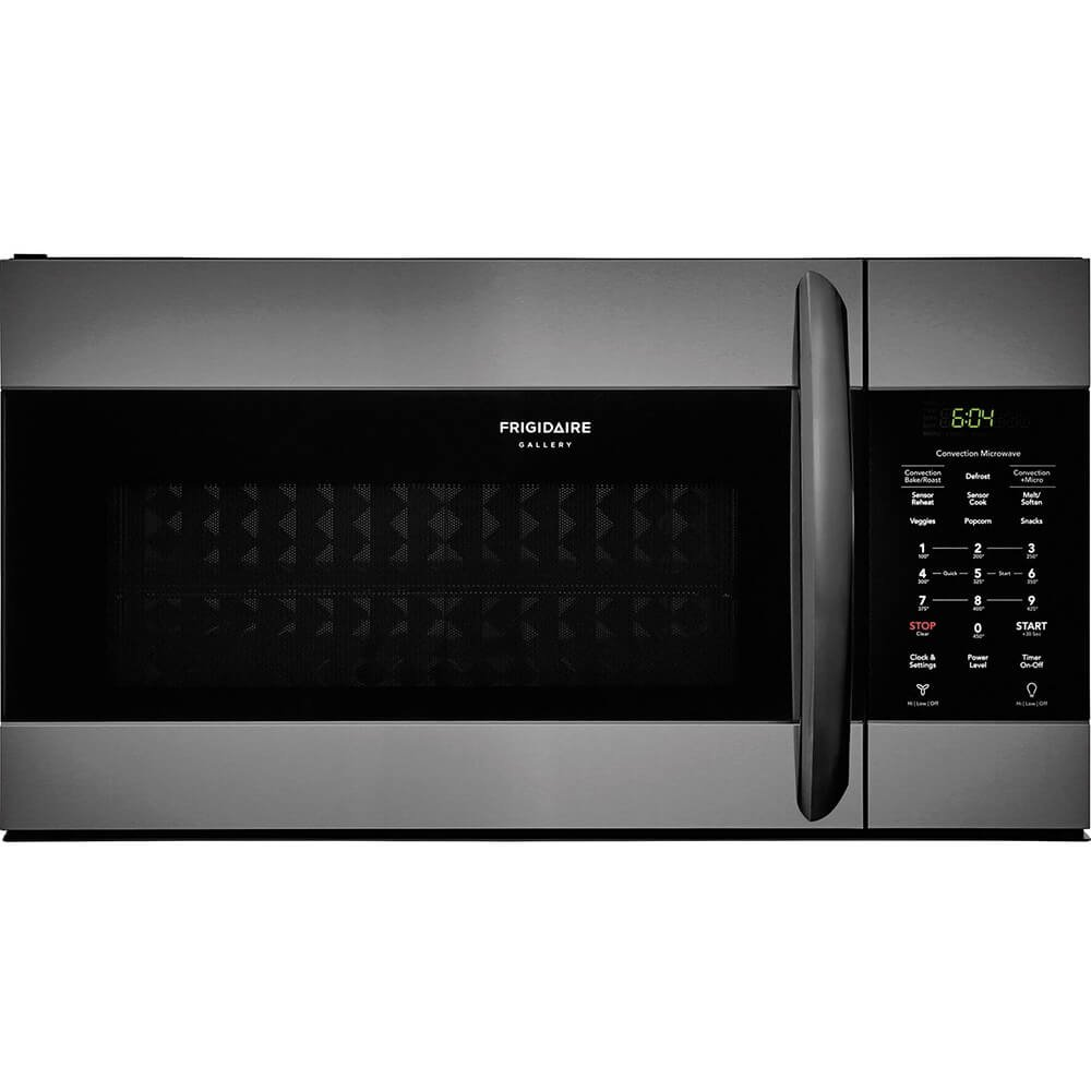 Frigidaire FGMV155CTD Gallery Series 30 Inch Over the Range Microwave Oven with 1.5 cu. ft. Capacity in Black Stainless Steel by FRIGIDAIRE