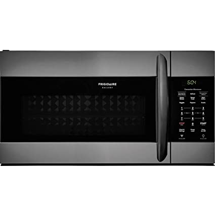 Frigidaire FGMV155CTD Gallery Series 30 Inch Over the Range Microwave Oven with 1.5 cu. ft. Capacity in Black Stainless Steel
