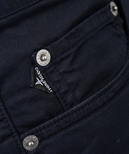 Stone Island Herren Jeans, Marine- J1BZM