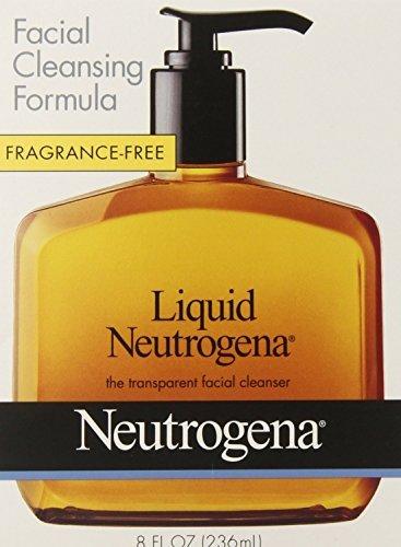 Jabon Neutrogena Liquido Para El Acne - Combate La Piel Grasa - Para Una Excelente Limpieza Facial (Limpieza De Cutis)