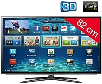 Samsung televisor LED Smart TV 3D UE32ES6100 HD TV 1080p, 32 Pulgadas (82 cm) 16/9,