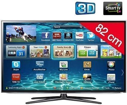 Samsung UE32ES6100 - Televisor LED 3D de 32 pulgadas con Smart TV (Full HD, 200 Hz, CI+): Amazon.es: Electrónica