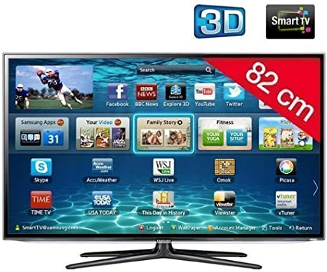 Samsung UE32ES6100 - Televisor LED 3D de 32 pulgadas con Smart TV (Full HD, 200 Hz, CI+): Amazon.es: Electrónica