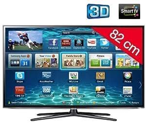 Samsung UE32ES6100 - Televisor LED 3D de 32 pulgadas con Smart TV (Full HD, 200 Hz, CI+) - color negro