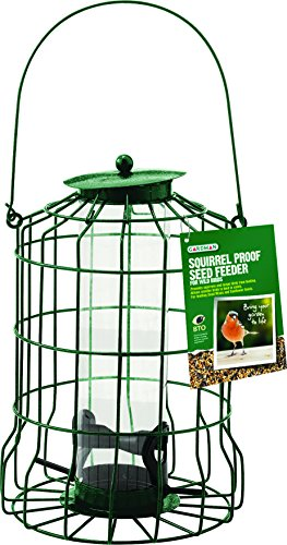 - Gardman BA01620 Squirrel Proof Seed Bird Feeder, 6.89